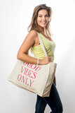 Totebag 'Good vibes only'_
