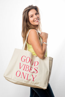 Totebag 'Good vibes only'