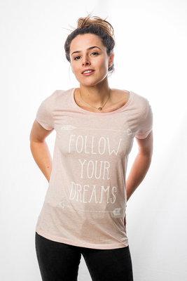 T-Shirt Women 'Follow your dreams'
