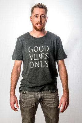 T-Shirt Men 'Good Vibes Only'