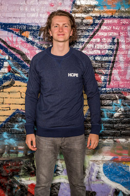 Sweater Men 'Hope Blue'
