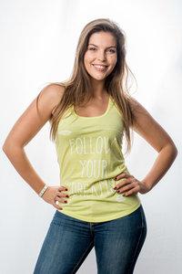 Tanktop Women 'Follow your dreams'