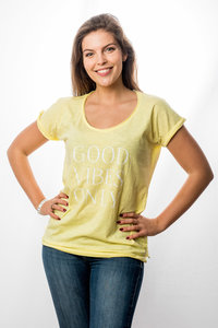 T-Shirt Women 'Good Vibes Only'