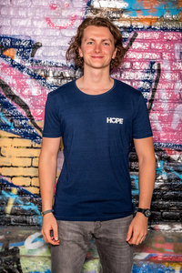 T-Shirt Men 'Hope' Blue